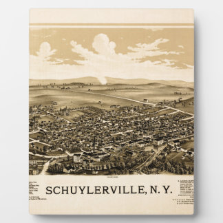 Schuylerville 1889 plaque