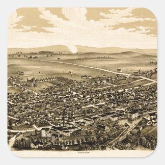 Schuylerville 1889 square sticker