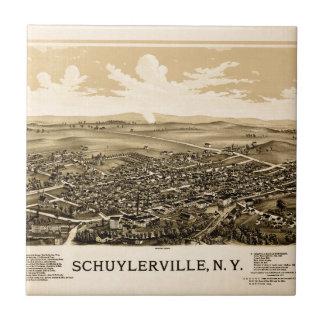 Schuylerville 1889 tile