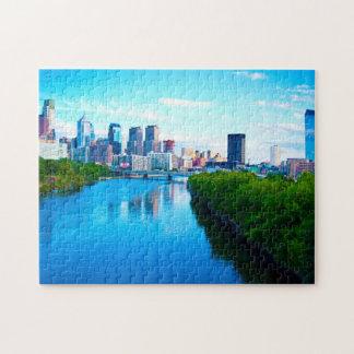 Schuylkill River Philadelphia. Jigsaw Puzzle