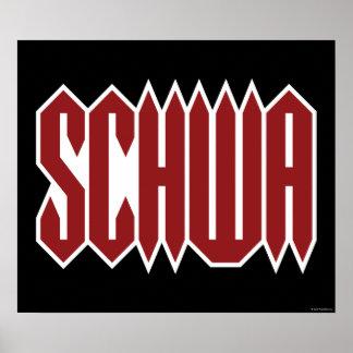 Schwa Poster