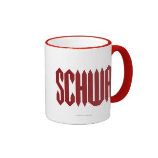 Schwa Ringer Coffee Mug