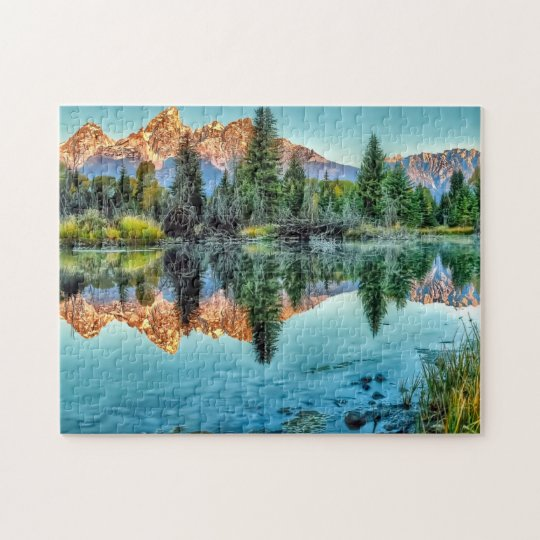 Schwabacher's Landing and Beaver Pond Jigsaw Puzzle
