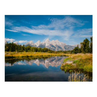 Schwabacher's Landing in Grand Teton National Park Postcard