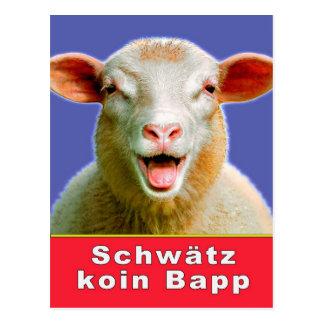 Schwätz koin Bapp Postkarte