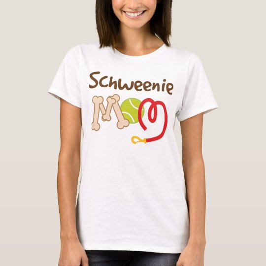 Schweenie Dog Breed Mom Gift T-Shirt