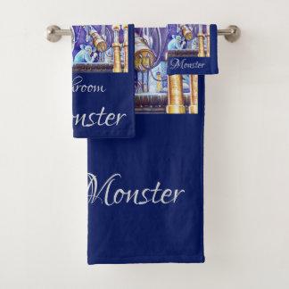 Schweinstein's Monster Bath Towel Set
