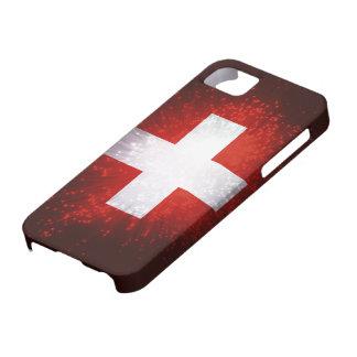 Schweiz; Switzerland Flag iPhone 5 Cases