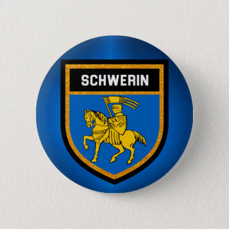 Schwerin Flag 2 Inch Round Button