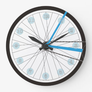 Schwinning Clock In Blue