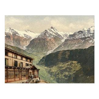 Schynige Platte, Wetterhorn and Schreckhorn, Berne Postcard