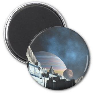 Sci-Fi City Magnet
