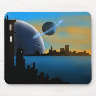 """Sci Fi City"" Mouse Pad"