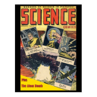 Sci-Fi Comic: Science Comics 1 Postcard