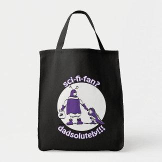 Sci-Fi-Fan Dad Grocery Tote Bag