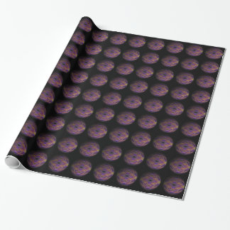 Sci-fi fantasy worlds wrapping paper