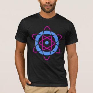Sci Fi Geek Atom Symbol T-Shirt