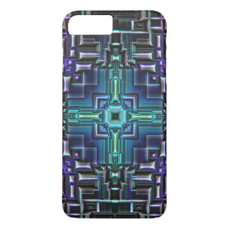 Sci Fi Metallic Shell iPhone 7 Plus Case