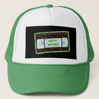 Sci-Fi-Movies Black & Green Trucker Hat
