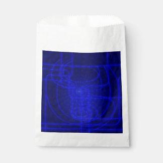 Sci-Fi Neon Circuits Favour Bag