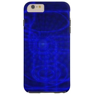 Sci-Fi Neon Circuits Tough iPhone 6 Plus Case