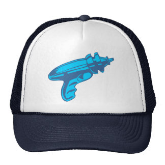Sci-Fi Ray Gun Laser Pistol Trucker Hat