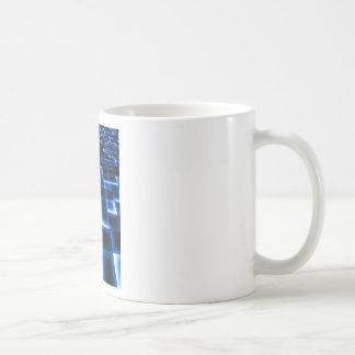 Sci Fi UFO Landing Pad Coffee Mug