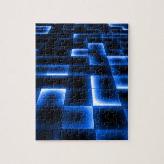 Sci Fi UFO Landing Pad Jigsaw Puzzle
