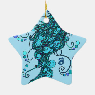SCI - Jellyfish -String Cheese Incident - Tequilla Ceramic Ornament