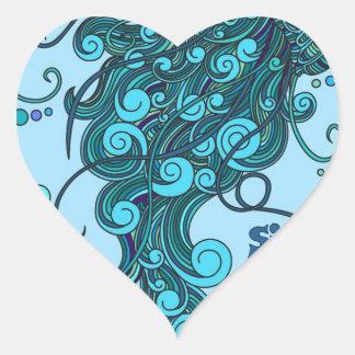 SCI - Jellyfish -String Cheese Incident - Tequilla Heart Sticker