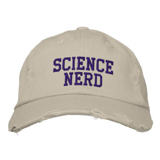 SCI-NER-WF EMBROIDERED HAT