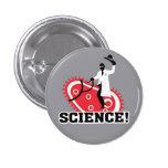 Science! 1 Inch Round Button