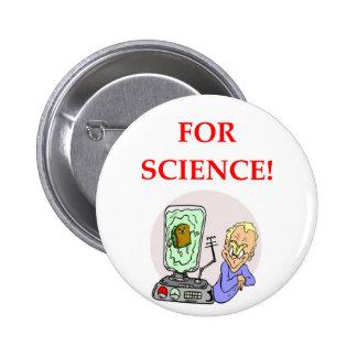 science 2 inch round button