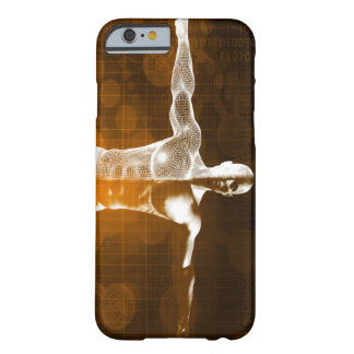 Science Abstract as a Concept Background Art Barely There iPhone 6 Case