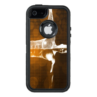 Science Abstract as a Concept Background Art OtterBox Defender iPhone Case