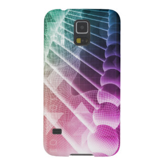 Science Abstract Presentation Background Case For Galaxy S5