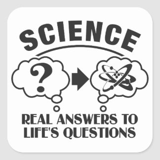 Science Answers custom stickers