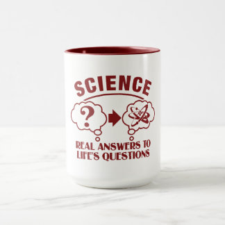 Science Answers mug - choose style & color