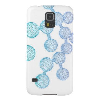 Science Atom and Chemical Formula as Concept Galaxy S5 Cover