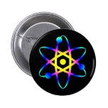 science atom button