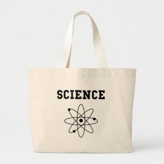 Science Atom Large Tote Bag