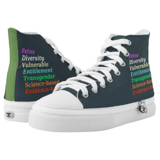 Science based and other banned words high tops