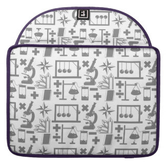 Science Biology Physics Geography Math Pattern MacBook Pro Sleeves