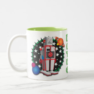 Science bot Mug Design
