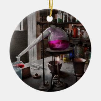 Science - Chemist - Chemistry for Medicine  Ceramic Ornament