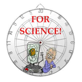 science dart board