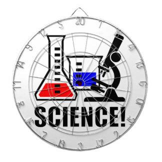 Science! Dartboard With Darts