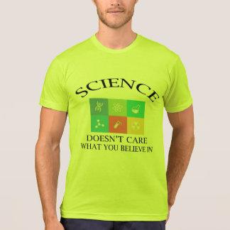 science does not care big bang  t-shirt design
