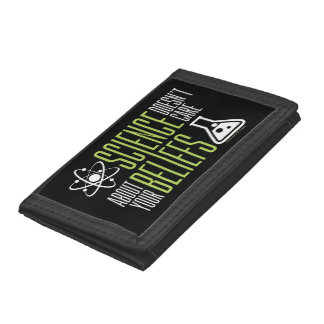 Science Doesn't Care Trifold Wallet