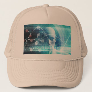 Science Education and Developing Scientists Trucker Hat